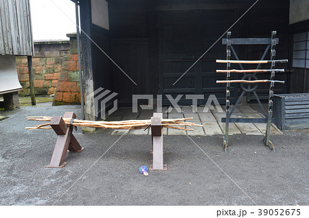 示現流の木刀(仙巌園/鹿児島県鹿児島市) 39052675