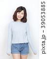 女性 若い セーターの写真 39053885