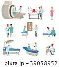 病院 患者 医者のイラスト 39058952