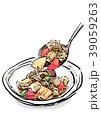 筑前煮 煮物 食べ物のイラスト 39059263