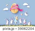 うさぎ バニー 女の子のイラスト 39062204