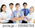 happy successful multiethnic business team 39066769