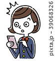 女子学生 女性 人物のイラスト 39068326