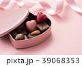 ハート型のチョコレートギフト 39068353