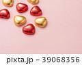 ハート型のチョコレート 39068356