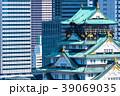 《大阪府》大阪城とビジネスパーク 39069035