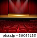 シアター 劇場 市民劇場のイラスト 39069135