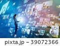 ソーシャルネットワーク ソーシャルメディア デジタルの写真 39072366
