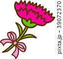 カーネーション 花 ピンクのイラスト 39072370