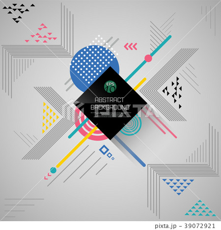 Convert abstract background of geometric pattern 39072921