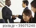 グローバルビジネス 名刺交換 39075240