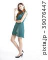 女性 ポートレートシリーズ ドレスアップ 39076447