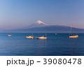 《静岡県》駿河湾越しの富士山 39080478