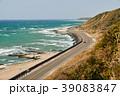 海 海岸線 御前崎の写真 39083847