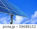 青空 雲 太陽光発電の写真 39086152