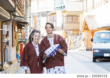 インバウンドイメージ inbound tourist Japan hot spring spa 39086529