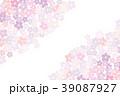 背景 春 桜のイラスト 39087927