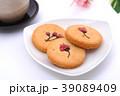 焼き菓子 お茶 ティータイムの写真 39089409