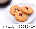 焼き菓子 お茶 ティータイムの写真 39089410