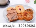 お菓子 桜 クッキーの写真 39089808