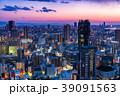 《大阪府》梅田周辺のトワイライト夜景 39091563