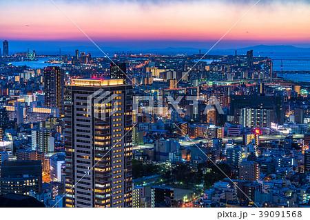 《大阪府》梅田周辺のトワイライト夜景 39091568