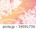 背景 春 桜のイラスト 39091730