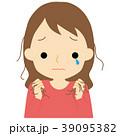 女性 抜け毛 悩むのイラスト 39095382