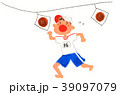 運動会パン食い競争 39097079