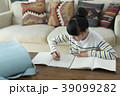 小学生 勉強 女性の写真 39099282