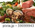 秋の味覚 食べ物 野菜 肉 食材 えび きのこ 高級食材 海鮮食材 果物 食欲の秋 39099943