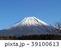 富士山 冠雪 富士の写真 39100613