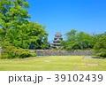 新緑の松本城 39102439