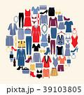 服 服装 衣服のイラスト 39103805