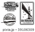 Set of very detailed logos about San Francisco 39106309