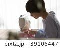 女性 ミシン 洋裁の写真 39106447