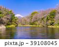 柿田川 富士山 川の写真 39108045