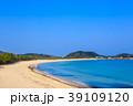 壱岐島 筒城浜海水浴場 砂浜の写真 39109120