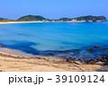 壱岐島 筒城浜海水浴場 砂浜の写真 39109124