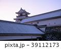 雪の高知城 39112173