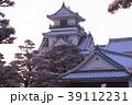 雪の高知城 39112231