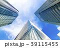 高層ビル ビル オフィス街の写真 39115455