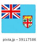国旗 手描き フィジー 39117586