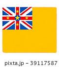 国旗 手描き ニウエ 39117587