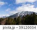 北アルプス 冬 西穂高岳の写真 39120034
