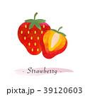 いちご イチゴ 苺のイラスト 39120603