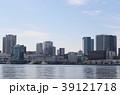 晴海ふ頭 海 ビル群の写真 39121718