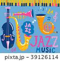 音楽 ジャズ 楽器のイラスト 39126114