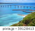来間大橋 海 海岸の写真 39128413