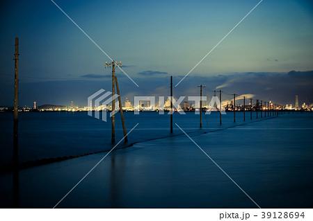 千葉県 江川海岸夜景 39128694
